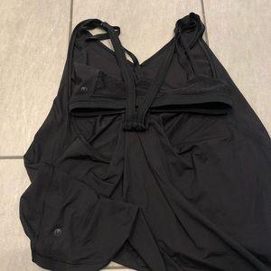 lululemon athletica Tops - Lululemon Tank Top Built in Bra Black